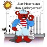 Kindergarten-News - Deckblatt